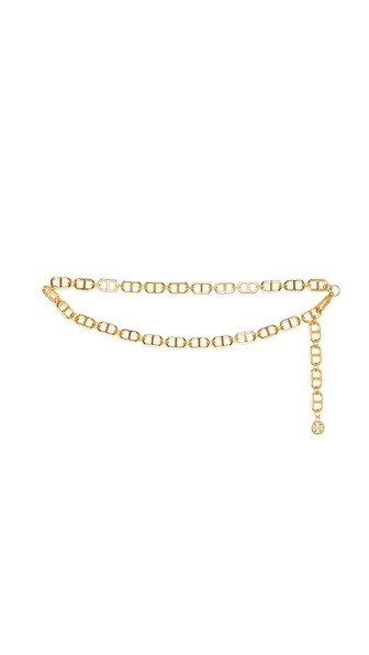Tory Burch Plato Interlocking Chain Belt