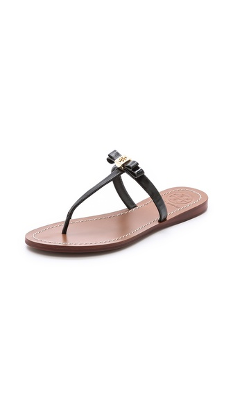 Tory Burch Leighanne Sandals - Black