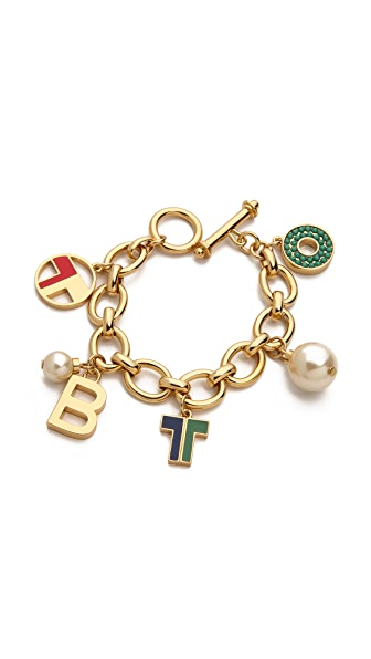 Tory Burch Theresa Charm Bracelet