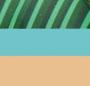Turquoise Combo/Shiny Brass