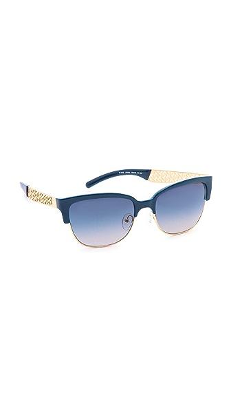 Tory Burch Rimless Bottom Sunglasses