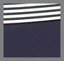 Skinny Stripe A/ Tory Navy