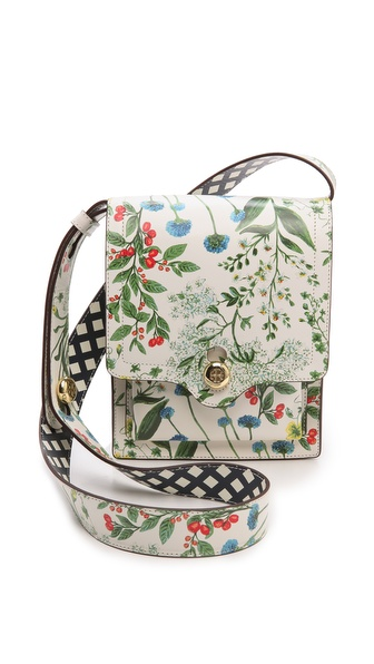 Tory Burch Printed Garden Messenger