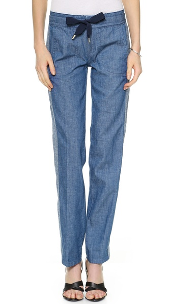 Tory Burch Allegra Ribbon Pants