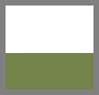 White/Leaf Green