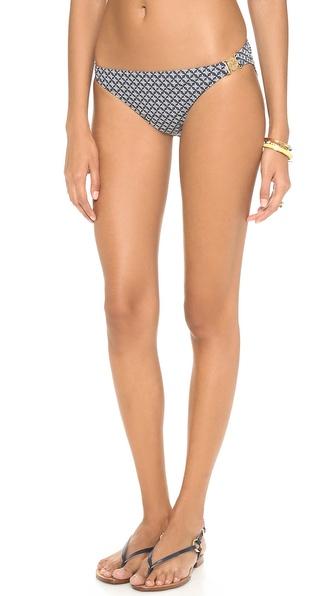 Tory Burch Portofino Logo Bikini Bottoms