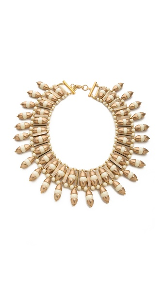 Tory Burch Candelaria Bib Necklace