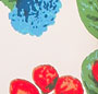 Watercolor Botanical/Lattice