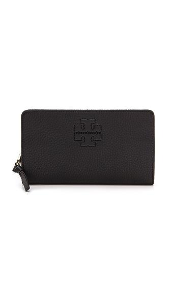 Tory Burch Thea Hidden Zip Continental Wallet