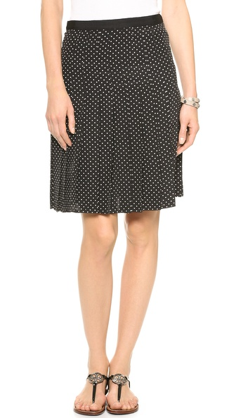 Tory Burch Erica Pleated Skirt