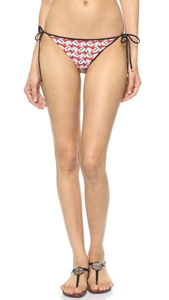 Tory Burch Calyx Reversible Bikini Bottoms