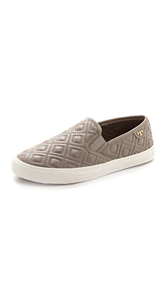 Tory Burch Jesse Quilted Slip On Sneakers