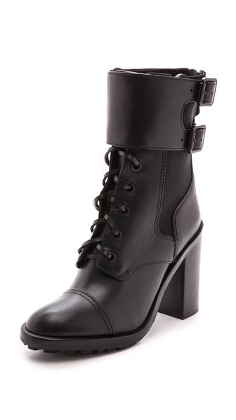 burch broome high heel combat boots black shop