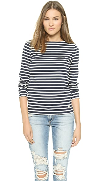 Tory Burch Tessa Striped Top