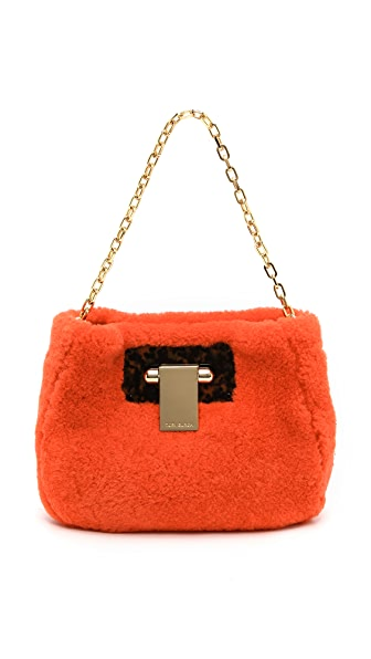 Tory Burch Fun Fur Clutch