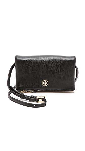 Tory Burch Robinson Mini Fold Over Cross Body Bag