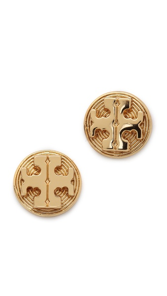 Tory Burch Livia Stud Earrings