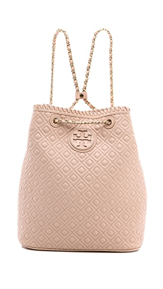 Tory Burch Marion Quilted Backpack