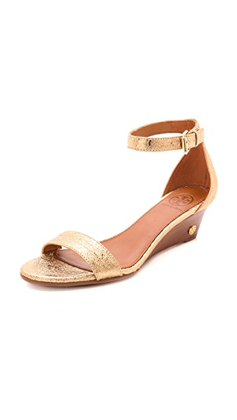 Tory Burch Savannah Wedge Sandals