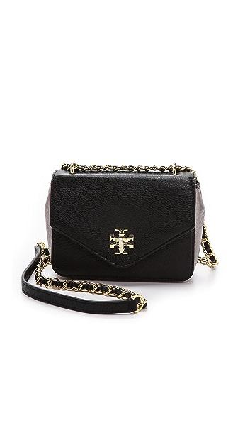 Tory Burch Kira Mini Chain Bag - Black/Gunmetal