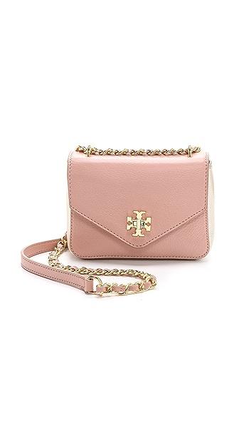 Tory Burch Kira Mini Chain Bag - Indian Rose/Champagne Gold