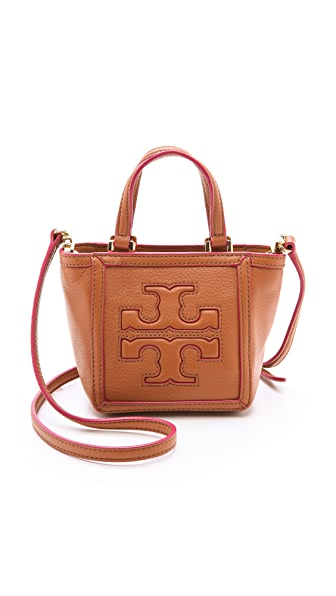 Tory Burch Tiny Tote - Luggage