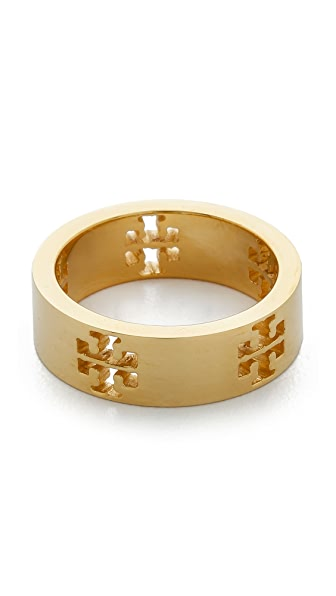 Tory burch pierced t ring shopbop for Tory burch jewelry amazon