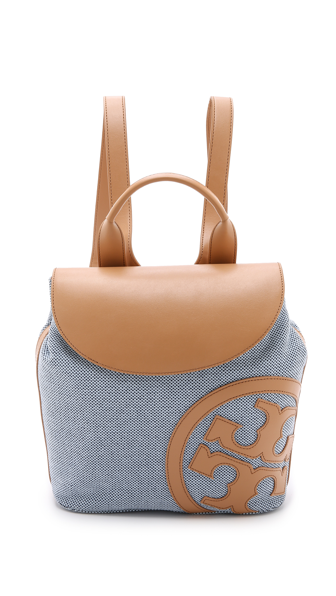 55151533b3d Tory Burch Lonnie Canvas Backpack on PopScreen