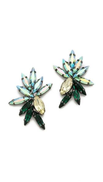 Tova Petal Jewel Earrings