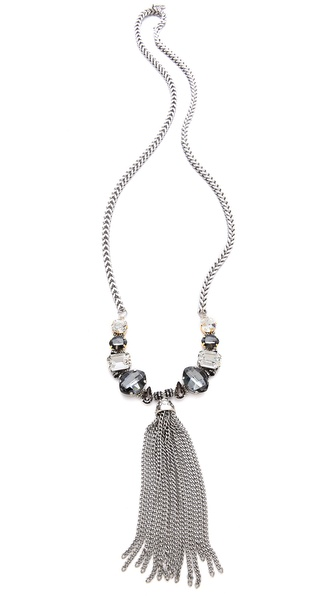 Tova Fringe Drop Necklace