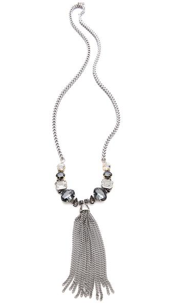 Tova Fringe Drop Necklace