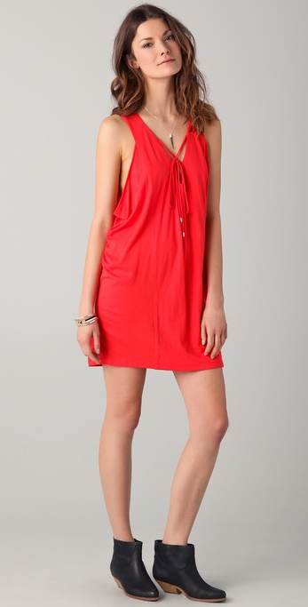 Townsen Lace Up Dress