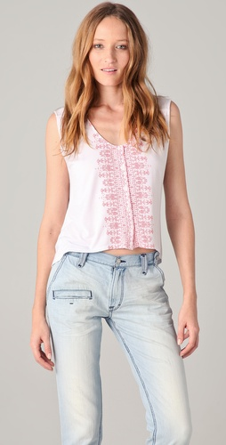 Townsen Turkish Button Down Tank