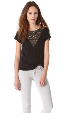 Townsen Leather Laser Cut Top