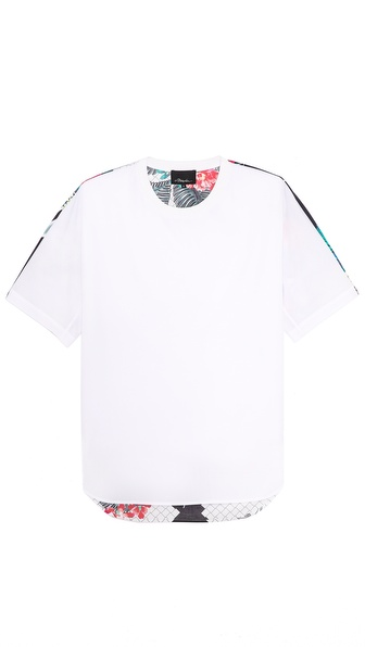 3.1 Phillip Lim Dolman Sleeve T-Shirt