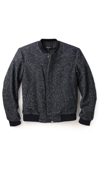 3.1 Phillip Lim Speckled Boucle Jacket