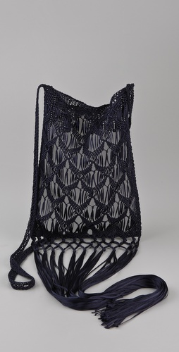 Tribune Standard Macrame Bag