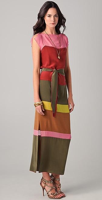 Tribune Standard Boxed Pieced Maxi Dress