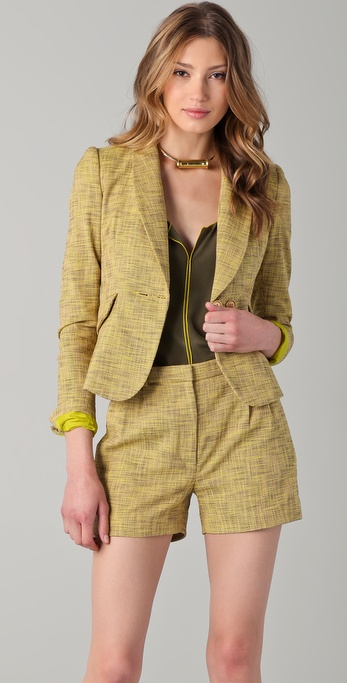 Tribune Standard Shawl Collar Blazer