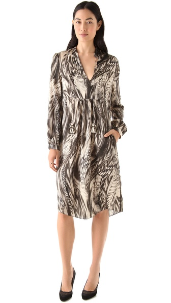 Tribune Standard Tassel Bib Dress