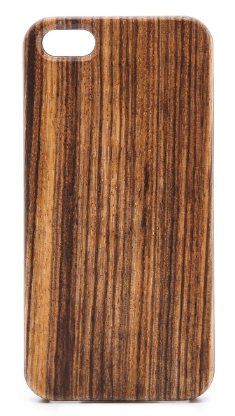Triple C Wooden iPhone 5 / 5S Case