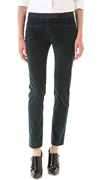 True Royal Slim Fit Velvet Pants