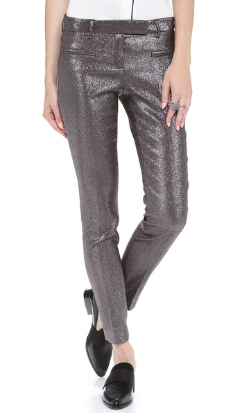 True Royal Metallic Pants