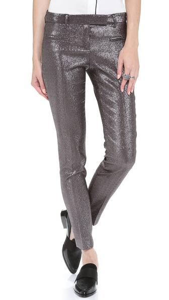 True Royal Metallic Pants