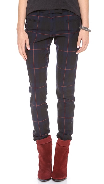 True Royal Tartan Plaid Pants