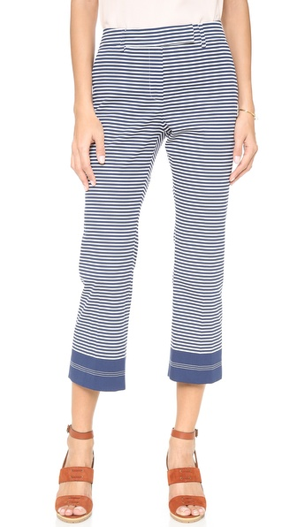True Royal Cropped Full Leg Trouser