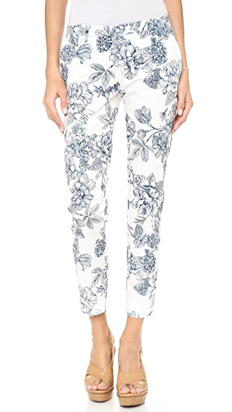 True Royal Side Pocket Floral Pants