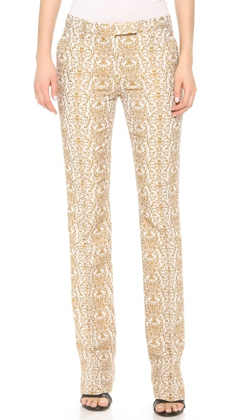 True Royal Jacquard Pants