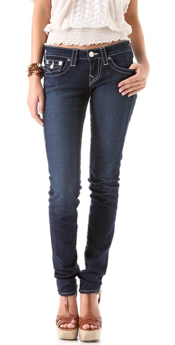 True Religion Julie Stretch Stovepipe Jeans