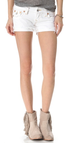 Shop True Religion Keira Cutoff Shorts and True Religion online - Apparel,Womens,Bottoms,Shorts, online Store
